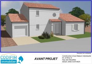 projet construction maison terrain