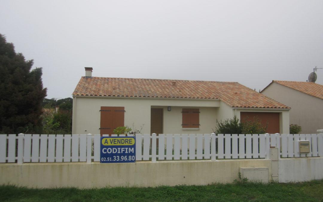 Vendue ! Maison individuelle avec terrain clos paysager