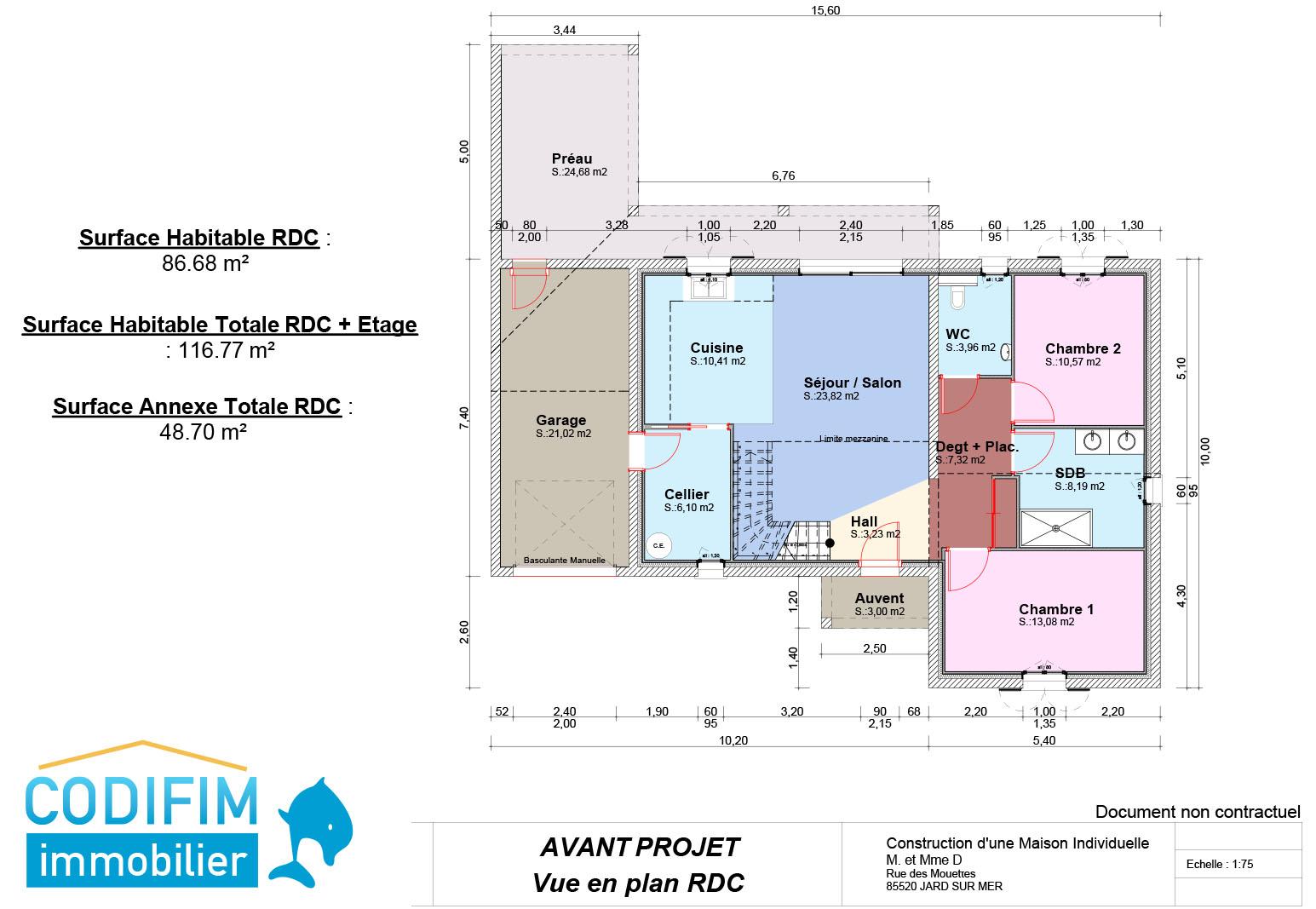 Plan de maison neuve elegant plan de maison neuve with for Plan de maison neuve